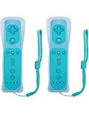 Remote Controller for Wii U Console (Blue and Blue,2 Packs)
