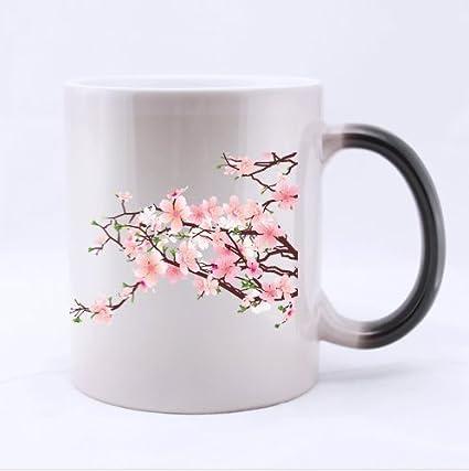 Cherry Blossom Tree Designjapanese Sakura Tree Pattern Ceramic
