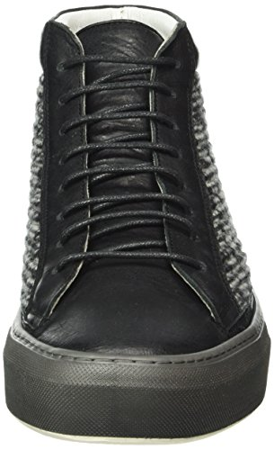 Karl Lagerfeld Mannen Lloyd High-top Black (zwarte 90)