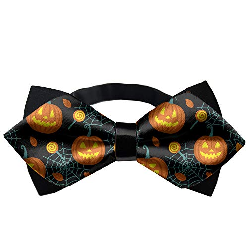 w Tie Halloween Pumpkin Novelty Gift Bow Ties Party ()