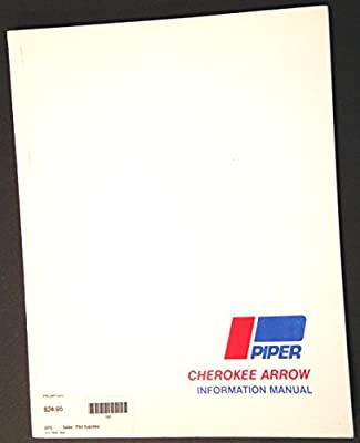 Piper Cherokee Arrow Information Manual