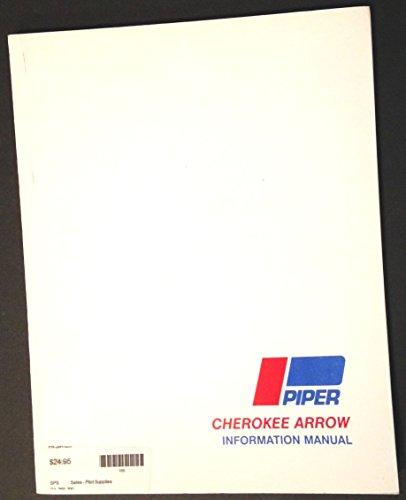 Piper Cherokee Arrow Information Manual Piper Arrow Manual