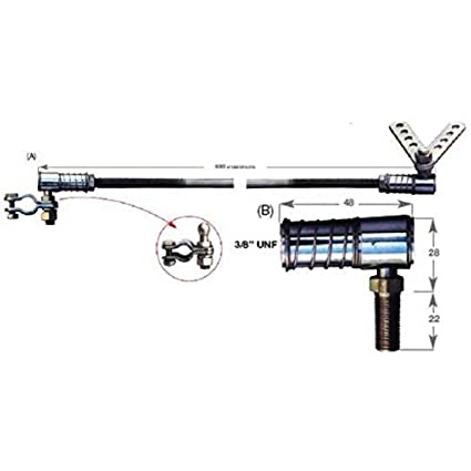Attwood Outboard Kicker Motor Steering Kit 11663-7