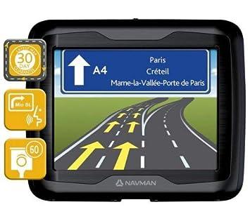 Navman F360 - Navegador GPS con mapa de 23 países de Europa (pantalla de 3