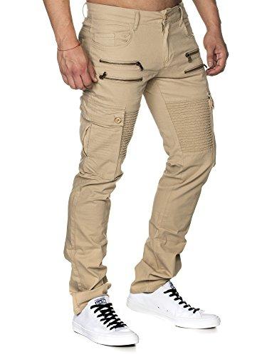 Tazzio - Pantalon - Slim - Homme -  beige - 29 W/32 L