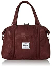 Herschel Strand Duffel Bag, Plum Dot Check, One Size