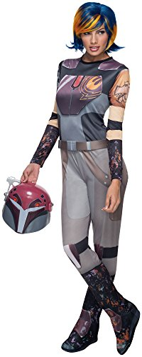 Rubie's Star Wars Men's Rebels Sabine Wren Costume, Multi, Standard]()
