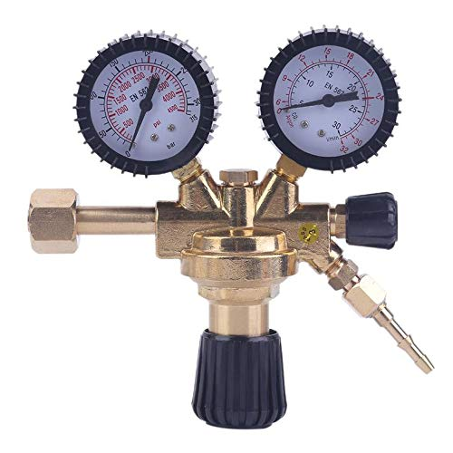 Rodalind Universal Carbon Dioxide Pressure Reducer Non-Heating Ar Argon Co2 Regulator