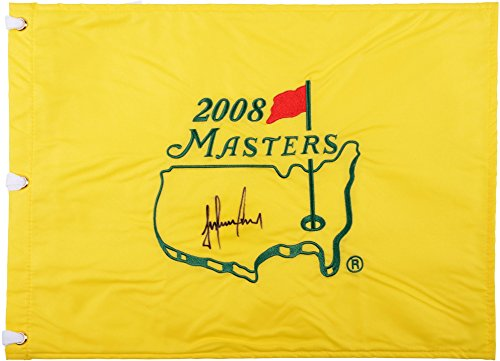 Trevor Immelman Autographed 2008 Masters Golf Pin Flag - Fanatics Authentic Certified - Autographed Pin Flags