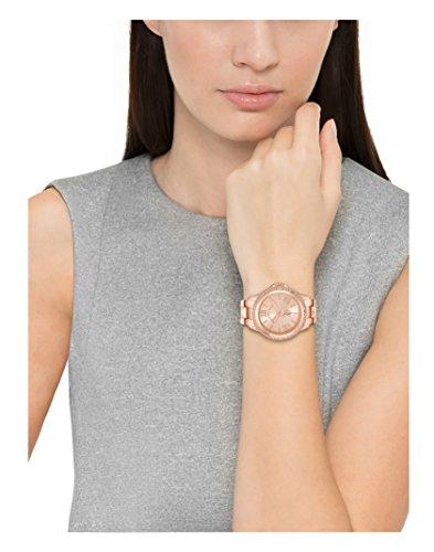 U.S. Polo Assn. Women's USC40078 Rose Gold-Tone Bracelet Watch