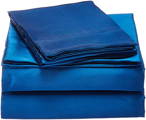 Buy Discount Honeymoon Ultra Luxury and Soft Satin King Bed Sheet Set
