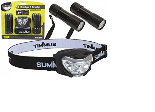 9 LED Torch & Headlight - Summit 840003
