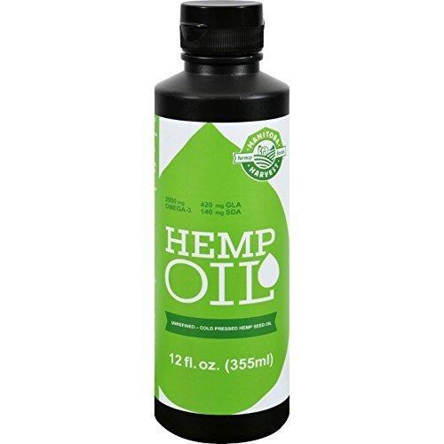 Manitoba Harvest Hemp Seed Oil - 12 Oz, 12 pack