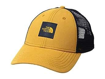 The North Face Men's TNF Box Logo Trucker, Citrine Yellow/Urban Navy, One Size