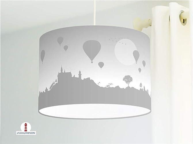 Lampe für Schlafzimmer mit Heißluftballons in Grau - alle Farben ...