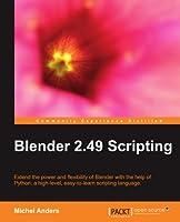 Blender 2.49 Scripting Front Cover