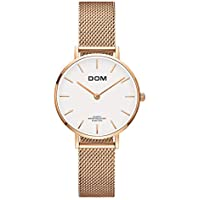 Women Fashion Super Simple Multi-Color Slim Stainless Steel Transparent Dial Hollow Wrist Watch Womens Ultra Thin Analog Quartz Watches