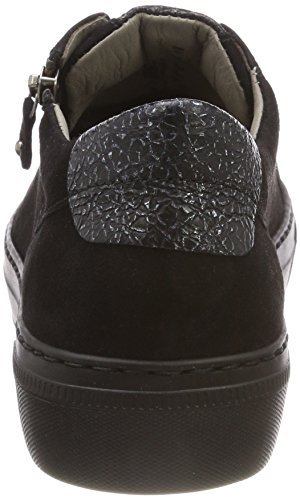 Argento Gabor Cordones Gabor Zapatos para Negro Shoes Mujer Derby Casual de Schwarz 5XwXPRq