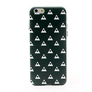 WQQ Eye and Triangle Style Litchi Grain Hard Back Case for iPhone 6
