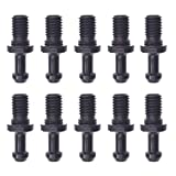 JRL 10pcs CAT 40 5/8-11 60 Degree Pull Stud Retention Knob Fits Kira Okuma CNC New