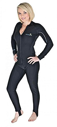 For Curvier Women of Average Height - New Women's LavaCore Trilaminate Polytherm Full Jumpsuit for Extreme Watersports (Size Small ''W'') by Lavacore