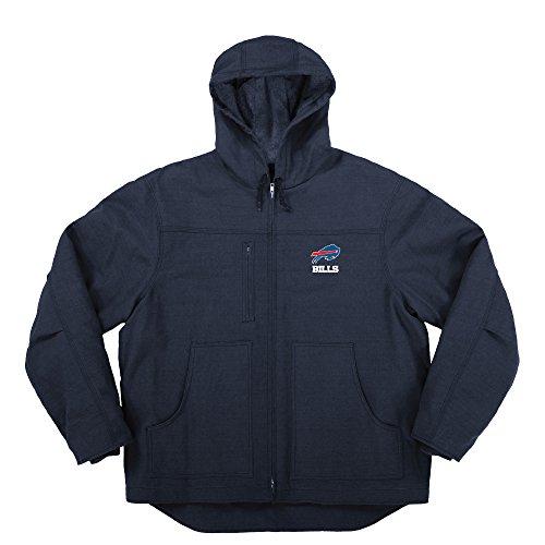 Dunbrooke Apparel NFL Chaqueta de Lona con Forro Acolchado, Azul, Large