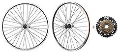 "Spec:       VENZO 26"" double wall Rims ETRTO size: 559x18 Valve hole: 8mm A/V Internal width: 18 mm Material: Alloy 6061-T6 Brake interface: Caliper brake CNC braking surface ( rim brake ) Fit tyre type: Clincher ED Blake steel spokes ..."