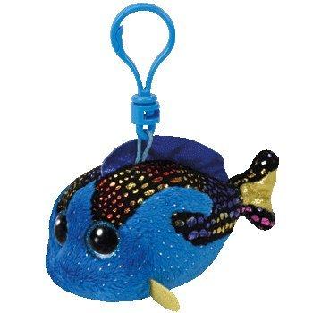 Aqua Fish (Ty Beanie Boos AQUA - Blue Fish Clip by Ty TOY)