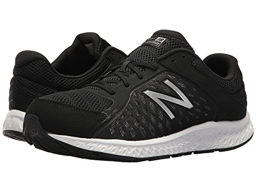 [new balance(ニューバランス)] メンズランニングシューズ?スニーカー?靴 420v4 Black/Silver 12 (30cm) D - Medium