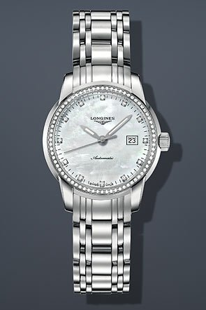 Longines-Saint-Imier-Mother-of-Pearl-Stainless-Steel-Ladies-Watch-L25630876