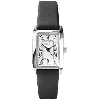 f0e46d205cf8 Sekonda Ladies Leather Strap Watch 4025: Amazon.co.uk: Watches
