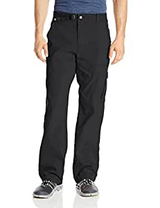"prAna Men's Stretch Zion 30"" Inseam Pants, Black, Size 28"