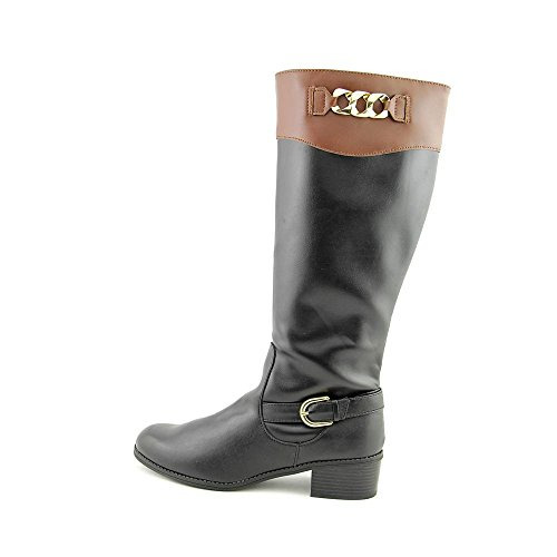 5 Cognac Darlaa 6 Black High US Boots Knee KS35 dXRCqxcw0R