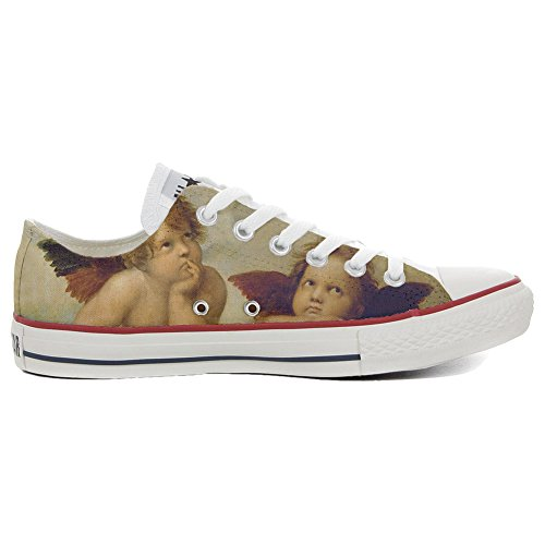 Star Customized Schuhe All Low personalisierte Slim Converse Handwerk Style Schuhe Artistic 5SRZqwganx