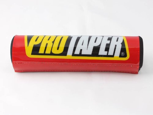 Durable Resilient Pro Taper Professional Crossbar Protector Pad for 7.9'' (Red)
