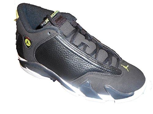 46324b692530 ... Nike Air Jordan 14 Jordan Retro 14 Indiglo Black Black-White-Vivid  Green (Big Kid) .