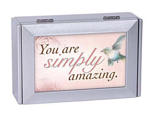 Frame Music Box (You Are Simply Amazing Silver Digital Music Jewelry Box Plays Song I Hope You)