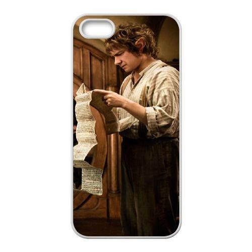 The Hobbit An Unexpected Journey 05 coque iPhone 4 4S cellulaire cas coque de téléphone cas blanche couverture de téléphone portable EOKXLLNCD20104