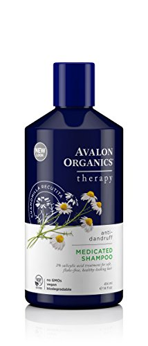 Avalon Organics Anti-Dandruff Itch & Flake Shampoo, 14 Fluid Ounce