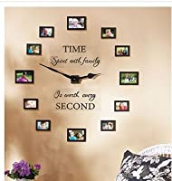 Sentiment Photo Wall Clock , Decal and P...
