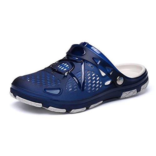 de del Zapatos del deslizador zapato de hombre de Chanclas respirables ocasionales verano sandalias playa YWNC blue UqBwp45x4