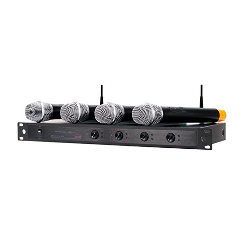 American Audio Microphone (American Audio WU-419V | 4 Channel UHF Wireless Microphone System)