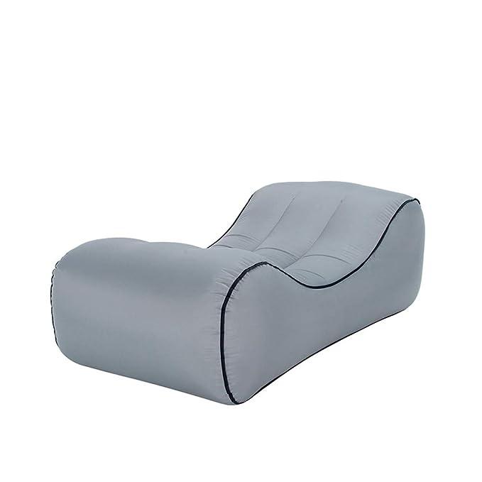 Amazon.com: Demiyat Sofá hinchable, silla de salón portátil ...