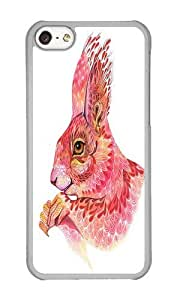 Case For Ipod Touch 4 Cover Case,WENJORS Adorable The squirrel magic Hard Case Protective Shell Cell Phone Cover For PC Transparent