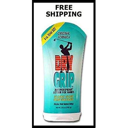DryGrip - 6 oz Bottle Antiperspirant Lotion for Hands, Forehead, Stops sweat anywhere!
