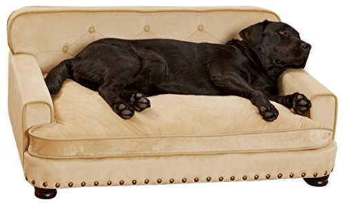 Enchanted Home Pet Ultra Plush Library Pet Sofa