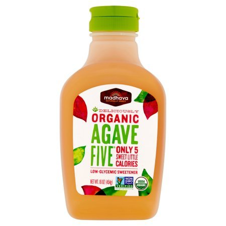 Madhava Naturally Sweet Organic Agave Five Low-Glycemic Sweetener, 16 Ounce (12 Pack) by Madhava (Image #6)