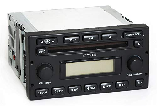 1 Factory Radio AM FM 6 CD Player Compatible With 2005-07 Ford Escape Mercury Mariner 5L8T-18C815-EC