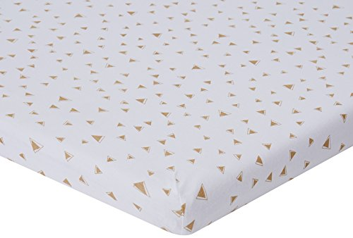 American Baby Company 100% Cotton Value Jersey Knit Porta-Crib Sheet