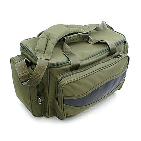 XXL Deluxe Angeltasche Carryall Karpfen Tasche 70 x 35 x 34 cm Tasche Tackle Bag